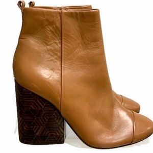 Tory Burch Grove Chunky Ankle Boots NEW